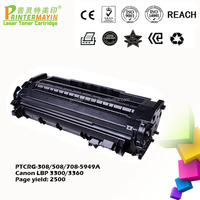 CRG 308 Toner cartridges Compatible FOR USE IN Canon LBP 3300 / 3360 (PTCRG-308/508/708-5949A)