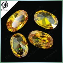 Large size Hot sale oval shape zirconia crystal for sale