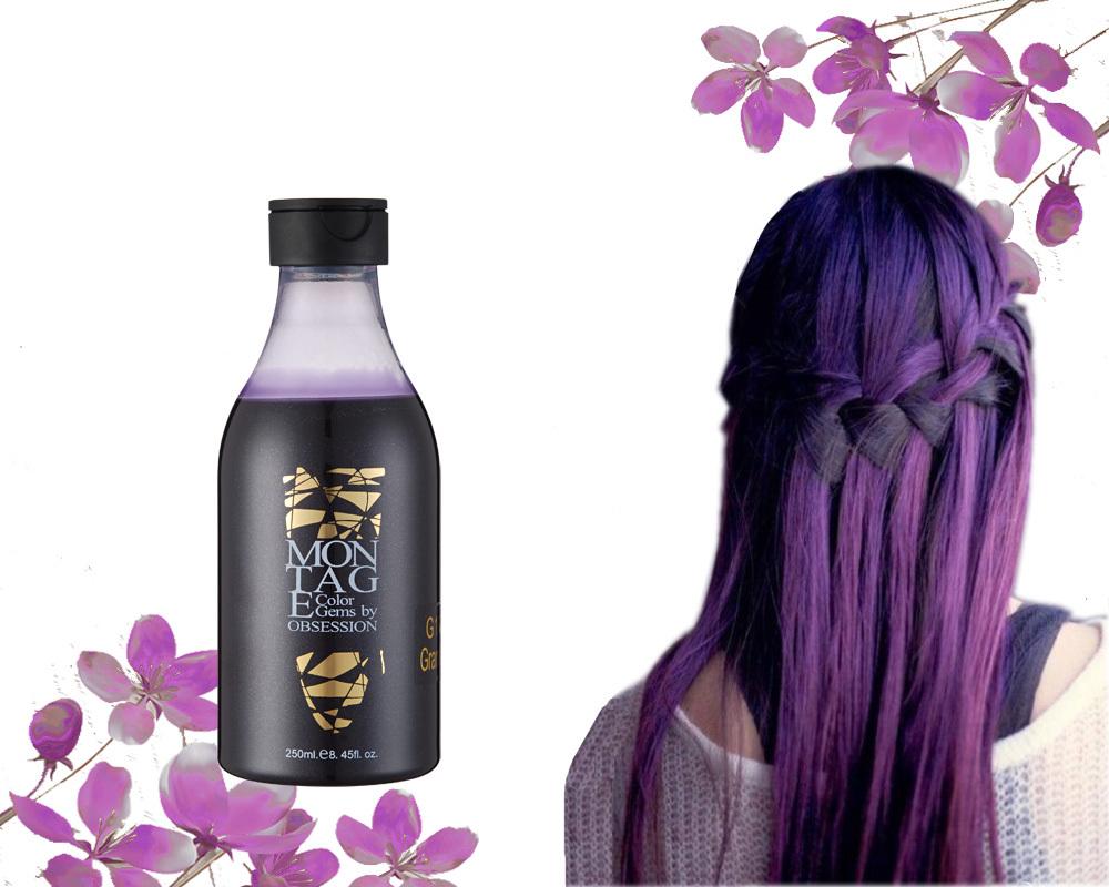 Britain Brand No Ammonia No Peroxide Orange Hair Dye Hair Manicure