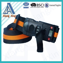 Customized logo printing weighting scale tsa lock travel luggage belt digital lock