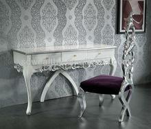 De madera maciza mesa de tocador y silla/caliente de la venta de madera de mano- tallado mesa 167