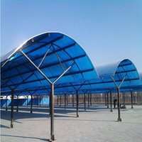 polycarbonate roofing sheet car sunshade awning