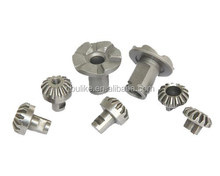Percision CNC machine small pinion gears, hardened small spur gear, small bevel gears