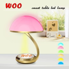 smart table led lamp reading light projection photoes lamp