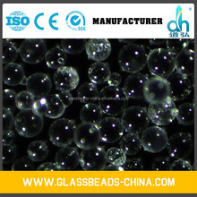 high performance crystal filler material glass beads 0.120-0.090mm