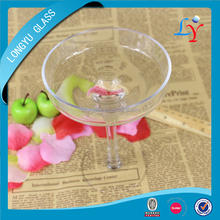 230ml Martini bulk crystal wine glass cup with long stem