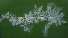floral bordado apliques de diseño
