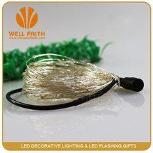 6V 12V powered led string lights wall mounted decorative lighting electric led fairy lights party light heart shaped light