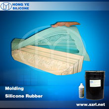 RTV liquid moulding silicone rubber for concrete mold and plaster cornice moulds raw material