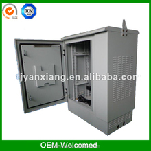 Galvanized enclosures box manufacture/SK-76105 outdoor electrical cabinet with heat exchanger