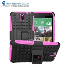 Hot! For desire 610 kickstand cellphone Case shockproof case with free sample and fast delivery