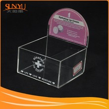 Customed Excellent Clear Small Acrylic Sweet Display/Pmma Candy Display Box