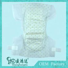 Todo el tamaño venta al por mayor sueño desechables pampering pañales para bebés en bebé pañales / pañales