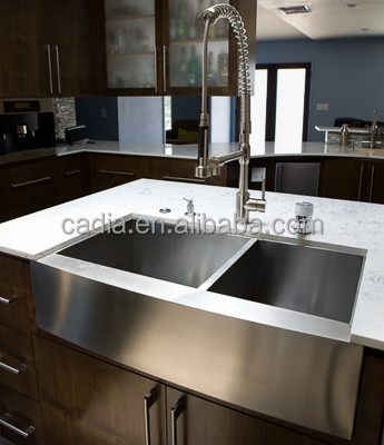 Apron Sink Sizes : ... wash basin sizes double apron front stainless steel solid surface sink
