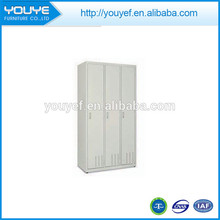 Simple products metal 3 door clothes wardrobe foshan furniture for sale