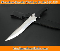 G10 Handle ERMA Knife 58HRC Tactical Knives Sanding Surface Jungle knife 5491
