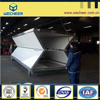 2014 New!!! For Military / Red Crossing / Disaster / Security Smart Flexible Foldable Container living house