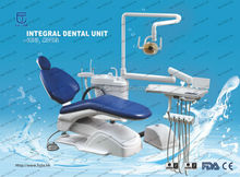 Guangzhou Fujia portable dental unit chair prices / 24V noiseless DC motor and auto high sucker