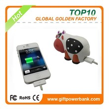 new product ideas cute pvc sheep portable charger power bank