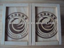 OEM natural color wooden food box