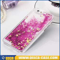 best selling products for iphone glitter&liquid case/ wholesale glitter phone case
