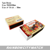 small boxed safety match