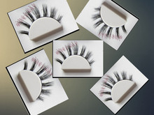 Milkyway new arrival mink false eyelash extensions 100% siberian mink lashes