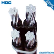 Factory price 1kv ACSR Conductor XLPE PE PVC insulation Twist 4 core ABC cable Chicoteagues Grullo Mare