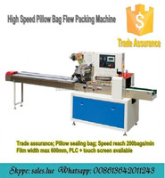 Automatic horizontal pillow bag soap packing machine