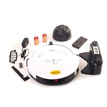 Auto recharge Automatic robot equipment , 14.4V Working voltage cheap robot vacuum cleaner