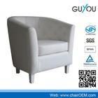 Y-5999 moderna sala de estar cadeira sofa barato/branco banheira cadeira de couro
