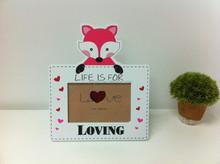 New design love wooden photo frames, Hot MDF frame for Kids