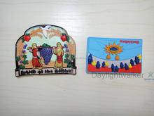 Hotting sale Novelty tourist souvenir custom 3d fridge magnets