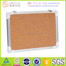 Aluminum frame magnetic green board for school ,Dry erase writing board, cork board notice board LD002-GC