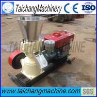 China taichang CE 100kg/hour flat die household small pellet mill