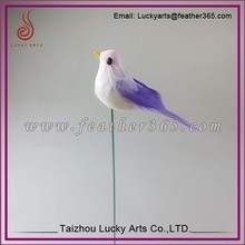 Feather Bird for Christmas/westen festival decoration with birds