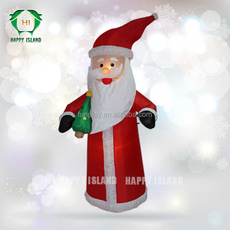 Decorations large inflatable christmas decorations plastic outdoor