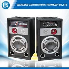 2 way fm radio music stand speaker system