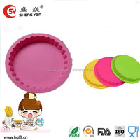 Christmas gift various newest design muffin silicone baking pan