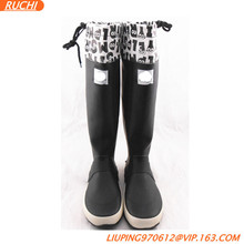 2015 New arrival soft fashion Japan rubber rain boots SRB02