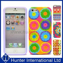 On Sale For Cell Phone Flower Design Silicon Cover