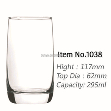 High quality lead crystla high ball glass factory in stocks clear transparent popular model high end