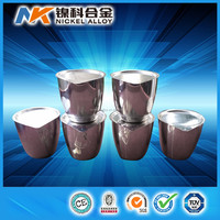 China supplier 99.95% high purity best price platinum crucible for melting