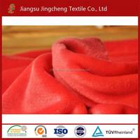 2015 hot sale good hand feeling solid color flannel fleece cuddle fabric JC04251