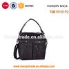 unique black shoulder messenger bag for men