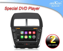 Hot sale 8 Inch 2 Din touch screen Car dvd Gps Navigation for MITSUBISHI ASX