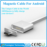 High speed Smart Magnetic USB Cable 10 in 1 universal usb multi charger cable for Android and Iphone