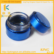 30g High Quality Blue Glass Jar with Aluminum Lid