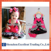 Lovely Slip Dress Lace Hemline Underwear Girls Baby SuitsCartoon Baby Suits
