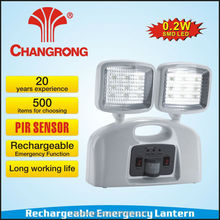 Chinese plastic PIR sensor rechargeable emergency channel light